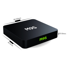 S905X TV Box M9S KODI 16.0 Fully Loaded High speed usb Media Center Streaming 4K High Definition Online Movies internet 3D box