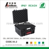 plastic case for electronic equipment