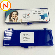 OEM manufactuer orthodontic bracket Edgewise Roth MBT MIM Metal Orthodontic brace with CE ISO