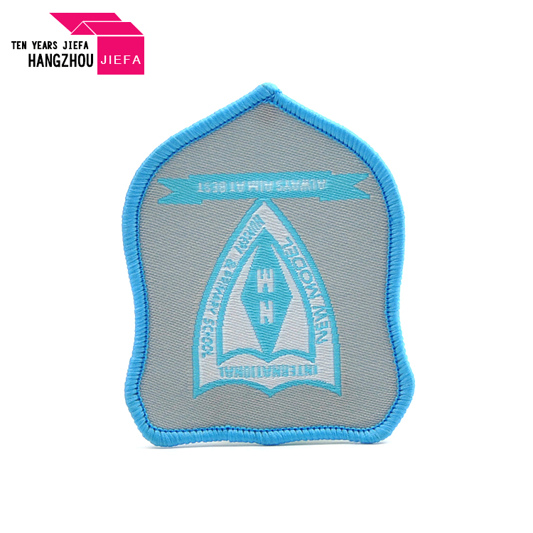 Factory Hot Sale Child Clothing Badge Custom Woven Patch For Hat Shoe Jeans