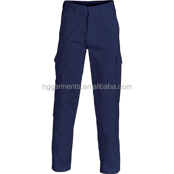 Mens workwear cargo work pants
