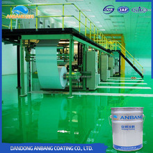 AB-DP-300D workshop epoxy floor paint with good permeability and adhesion