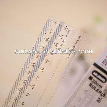 acrylic ruler for child, AR-009