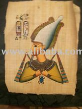 Egyptian hand-painted Papyrus Paintings