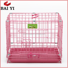 Direct Sale New Design Strong Stainless Steel Display Dog Cage