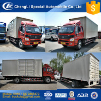 Foton Aumark Cargo Van Truck 4x2 3ton to 30 tons Heavy duty Goods delivery closed Van truck Right hand drive outside truck sale