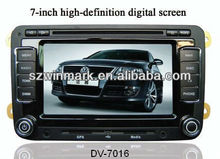 7 inch HD digital panel special Car DVD player for VW