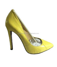 2015 New Fashion Party Style Women Ladies High Heel Snake Shoes Stiletto Shoes For Ladies