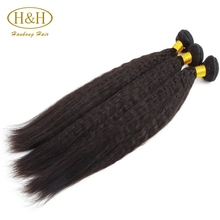 Cheap human hair extension unprocessed Brazilian hair in New York