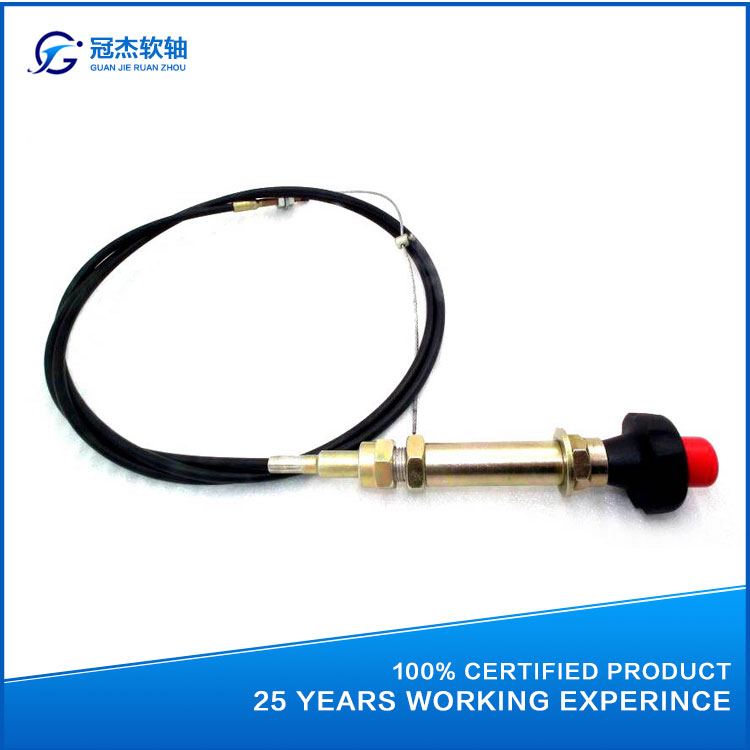 GJ1106A Low price / high quality / variety of vehicle throttle controller of flexible shaft
