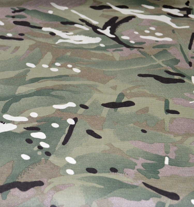 Anti-UV CVC 70/30 cotton/polyester rip-stop <strong>fabric</strong> with camouflage printing