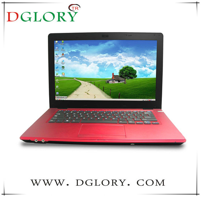 DG-NB1401 on sale 4GB/500GB 1366*768pix with DVD ROM 14inch laptop