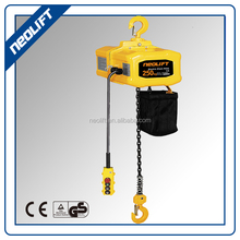 1/2T Single Phase Mini Electric Chain Hoist Fixed With Hook 220V 50/60HZ