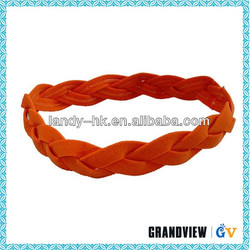Promotional top quality fashion nylon elastic band hair