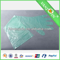 6g-10g Transparent Disposable Plastic Glove for Veterinary