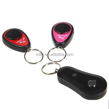 hot sales wireless RF Universal whistle key finder for pet/key Two receivers with a remote