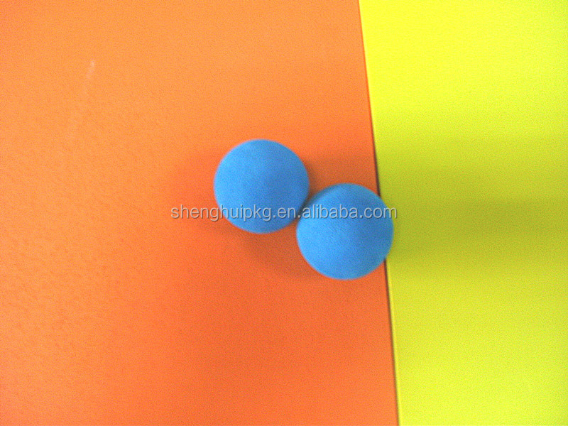 Cheap Flexible high density eva foam ball soft rubber ball