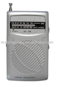 K-61 good quality handheld mini kids am/fm tv radio