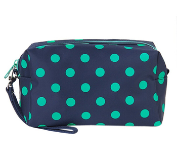 Sweet Cosmetic pouch / Make-Up / Organizer Bag Pouch Zipper Hand Case Polka Dots