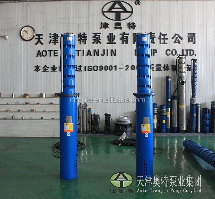 electric Fuel and Multistage Pump Structure Big size deep bore well submersible water pump