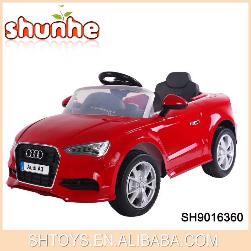 Audi A3 remote control electric car children licensed ride on car for sale