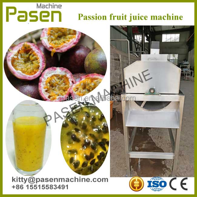 Passion fruit seed separator machine/Seed removing machine/Passion fruit juice pulping machine