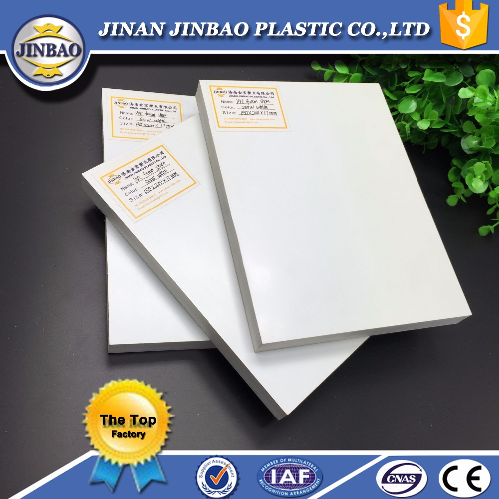 JINBAO 4x8 foot lightweight pvc foam sheet 3d printing board