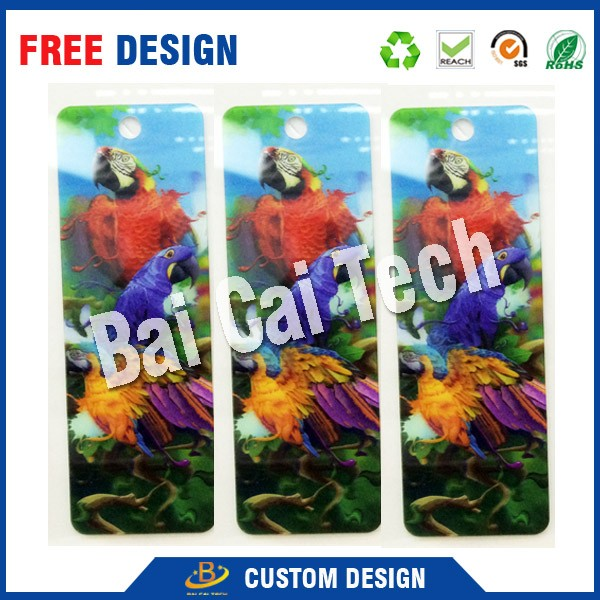 Wholesale factory price new-tech full color printing 3d lenticular card