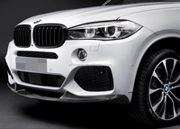 P Style Front Lip Spoiler For BMW F15 X5 M-Sport Bumper 2014UP B173F