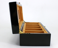 Wholesale Small Wooden Watch packing boxes with pillow custom Luxury Watch Gift Box