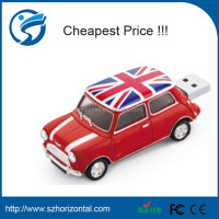 Hot England Mini cooper car shape USB 2.0 8GB flash drive memory stick pendrive