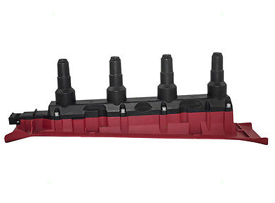 New Ignition Coil Cassette Pack Red For SAAB 900 9000 9-3 Turbo 4 Cyl 55561132