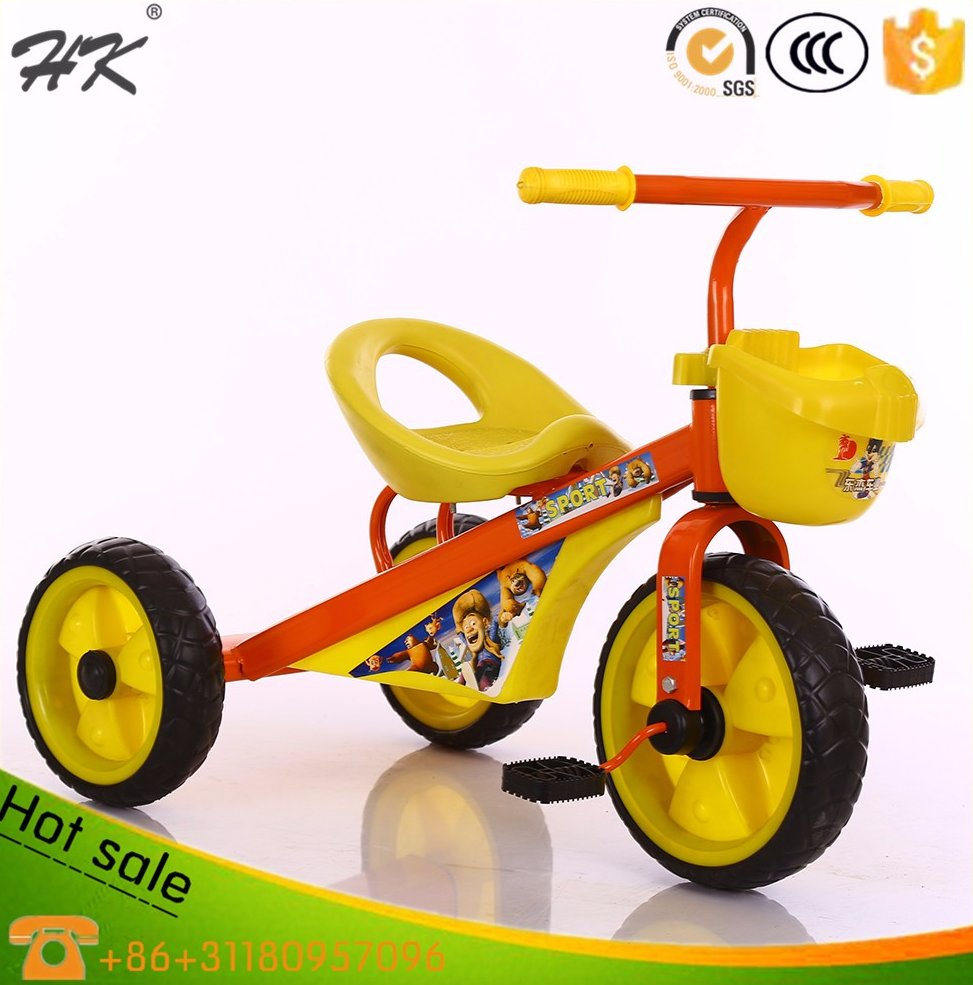 2015 hot sell manufacturer plastic baby tricycle ,kid car toy,child bicycle toy