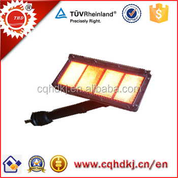 Infrared natural gas infrared heater for pizza oven HD410