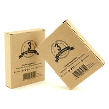 Fancy brown kraft paper box custom gift packaging box printing luxury gift box for soap