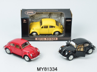 New product kids pull back die cast metal car model 1:32 scale toy car