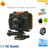 Full HD 1080p 30fps wifi waterproof extreme sport camera for action shots