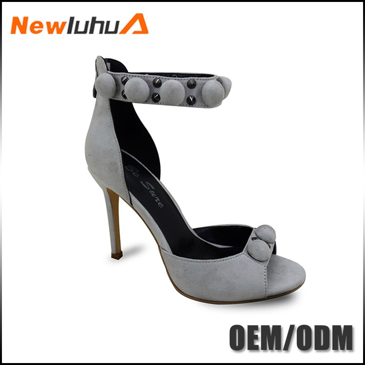 Special price uniqe design bowknot high heels sandals stiletto shoes