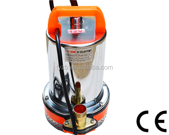24V DC Submersible Water Pump Electric Submersible Sewage Pumps