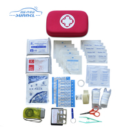 Eco-friendly light weight list of first aid kit items