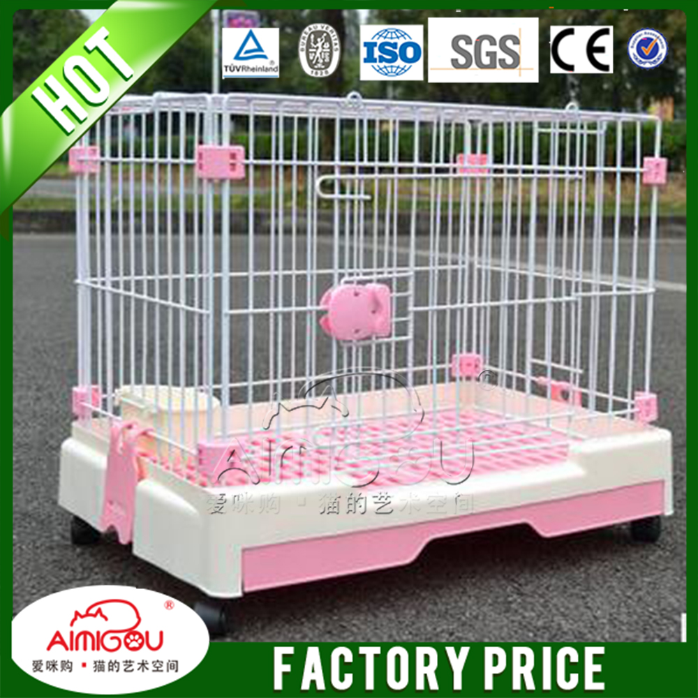 16 years Manufacurer pet accessories custom made iron metal dog cages