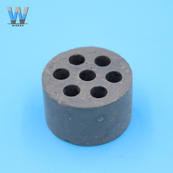 Seven holes cylindrical nickel ceramic types of catalyst price