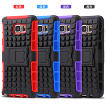 Newest Best Quality Football Robot Stand Cover Case For Samsungf Galaxy S6 EDGE Plus/G9280