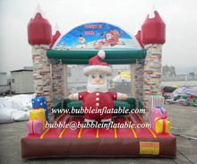 Merry Christmas inflatable party jumpers, inflatable bouncers for sale
