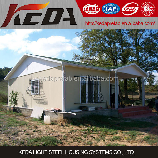 Eco friendly Light Steel Prefab Mobile Smart Home