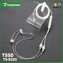Clear Air Tube High Sound Quality TSSD TS-E020 3.5mm In-Ear Phone Headset