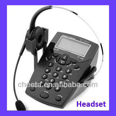fixed telephone central headset telephone