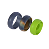 Mixed colors or Camo silicone rings for Men and Women