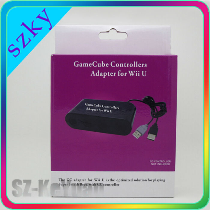 4 Ports for GameCube Controller Adapter for Wii U