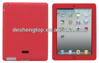 for ipad 2/ ipad 3 soft silicone laptop cases ,factory delivered covers
